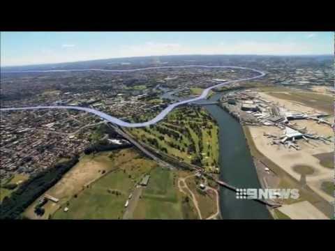 Nine News Sydney: New Light Rail for Sydney (13/12/2012)