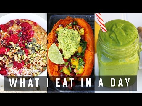 WHAT I EAT IN A DAY #60 | VEGAN