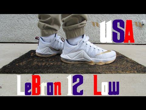 Lebron 12 low USA - Lebron 12 Usa 2f83ac896e27