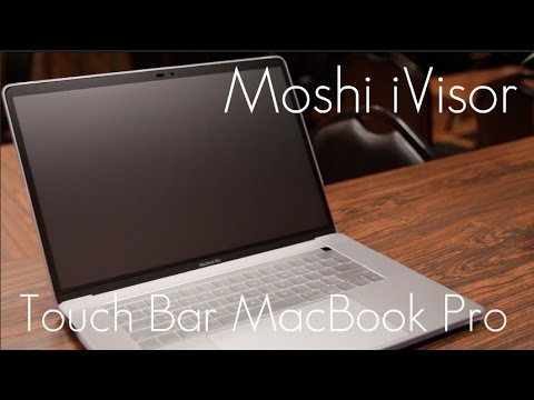 Moshi iVisor Pro - Anti Glare Screen Protector - 2016 Touch Bar MacBook Pro! - 13 & 15' - Review