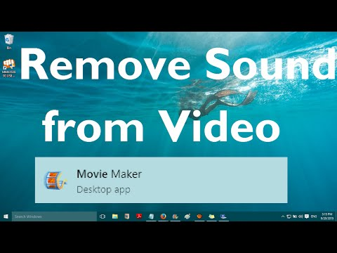 Remove Sound from a Video in Movie Maker and Replace it with New Audio Clip