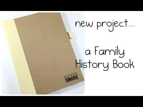 a new project... a Family History Book