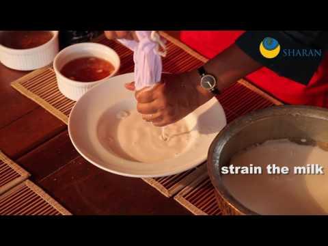 How to make a good peanut & rice milk vegan yoghurt / curds