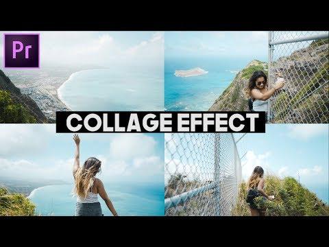 Video Collage Transition Effect (Premiere Pro CC 2017)