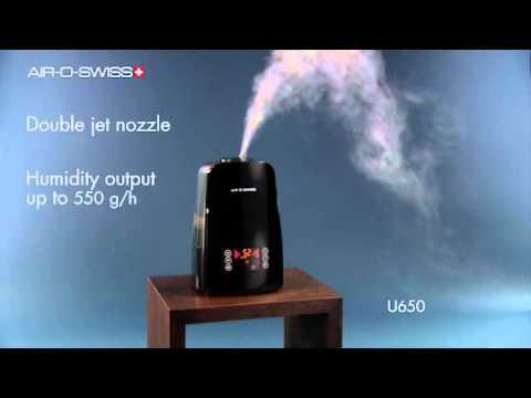 Ultrasonic Humidifier AIR-O-SWISS U650: Product Video