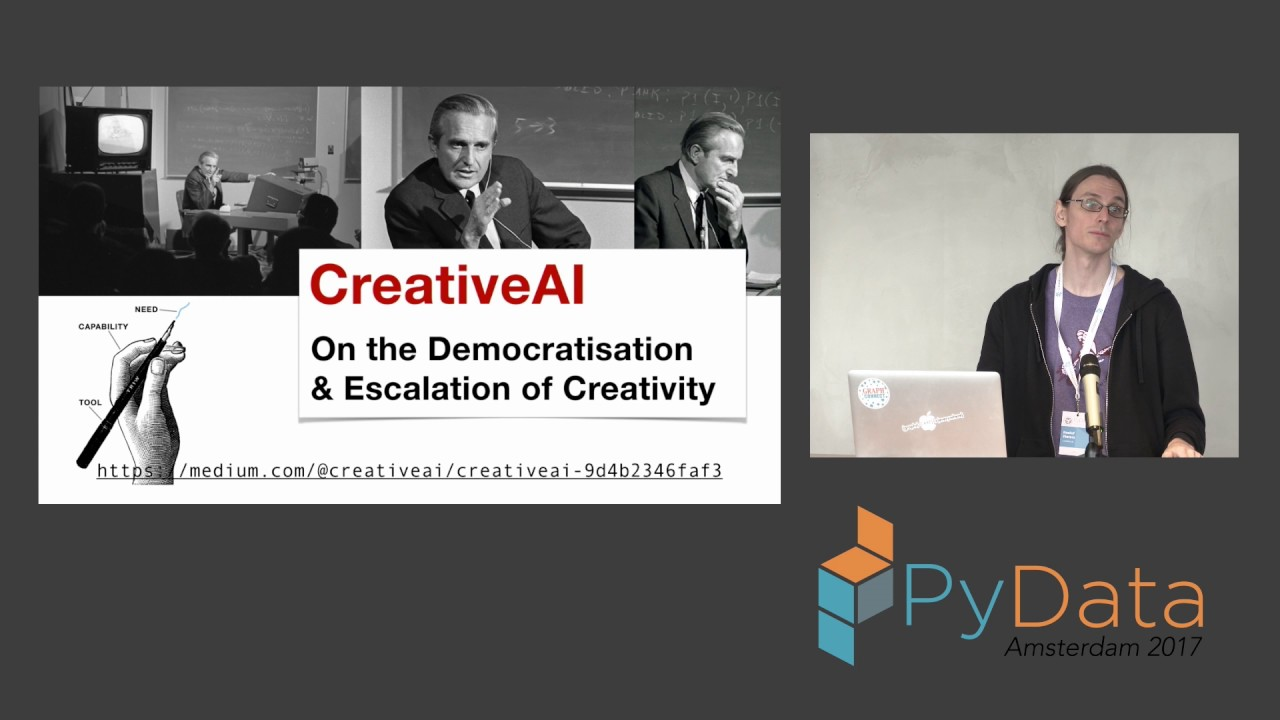 "Roelof Pieters | Creativity and AI: Deep Neural Nets ""Going Wild"""