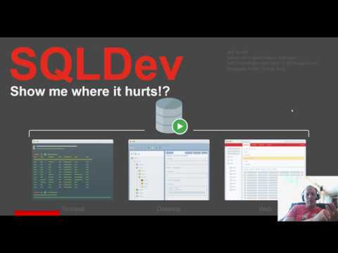 Why is my Oracle Database Slow? The SQL Developer Performance Dashboard