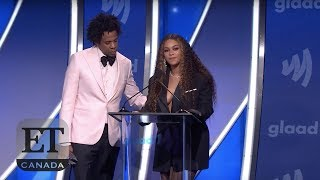 Beyonce And Jay-Z Give Emotional Speech At GLAAD Awards