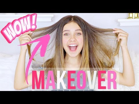 🌼 SPRING MAKEOVER 🌟  | CUTTING MY HAIR 💇 & GETTING MY NAILS DONE 💅