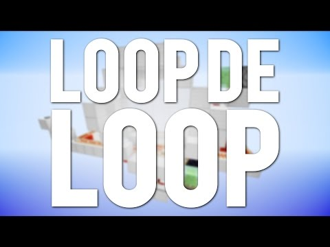 Minecraft: Minecart Loop De Loop! [Tutorial]