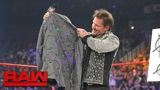 An apologetic Dean Ambrose gives Chris Jericho a new jacket: Raw, April 24, 2017