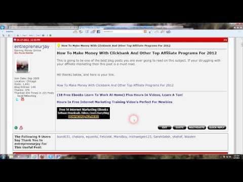 How To Make Money With The Warriorforum Internet Marketing Forum Complete Training