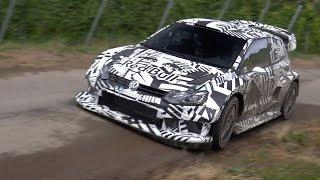 Sébastien Ogier VW Polo R WRC 2017 | Tests Rallye Deutschland | flatout