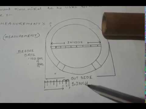 how to measure a circle of flute diameter-ID OD measuring instruments DIAMETERS OF 1inch flute pipe