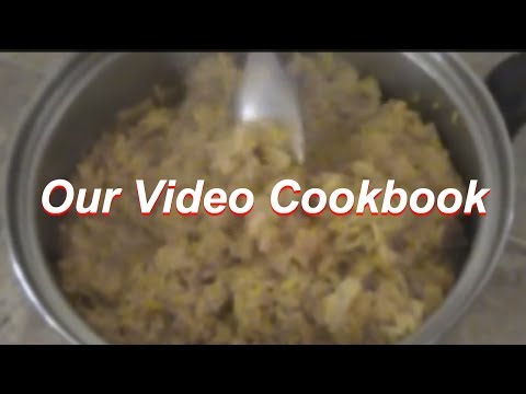 How to make Yellow Rice - Oven Method Recipe | Our Video Cookbook #129