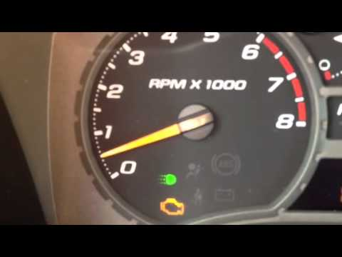 Idle RPMs BEFORE cleaning the Throttle Body