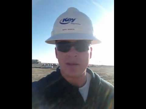 Oil Rig, RoughNeck, Day 1 of Training, Oil Jobs in Williston, ND - Video 5