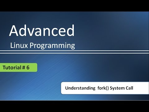 Understanding usage of fork() System call in C program : Advanced Linux Programming # Tutorial - 6