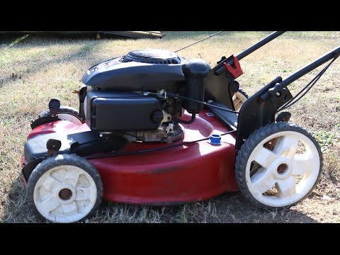 Self Propel Don't Work? Toro Recycler Push Mower....How to Change....