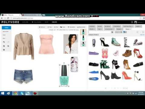 How to make a good outfit on Polyvore!