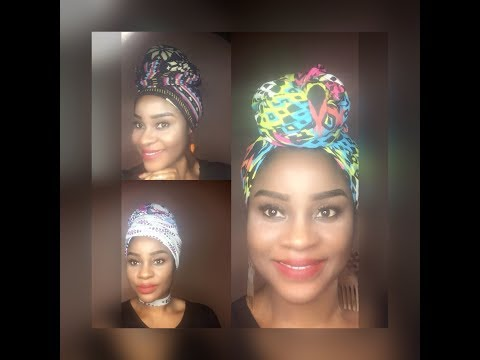 DIY: Make Your Own Headwrap From a Maxi Dress & Leggings