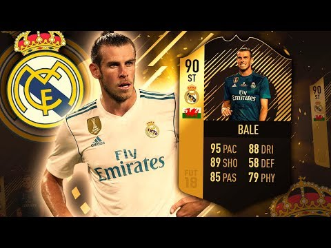STRIKER IF BALE 90! IS HE WORTH OVER 2,000,000 COINS? FIFA 18 ULTIMATE TEAM