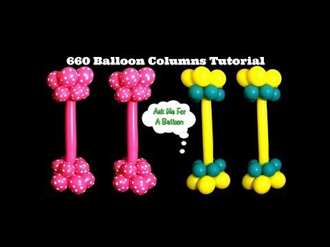 660 Balloon Columns Tutorial