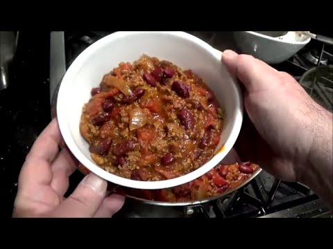 Basic Stovetop Chili