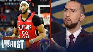 Nick Wright on reported Anthony Davis trade rumors   FIRST THINGS FIRST