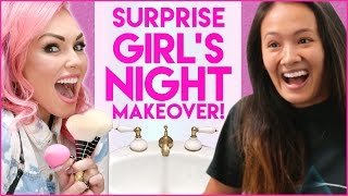 GIRLS NIGHT OUT SURPRISE MAKEOVER! | Stalled w/ Kandee Johnson