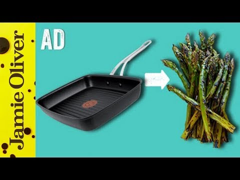 How To Griddle Veg   1 Minute Tips   Jamie Oliver - AD