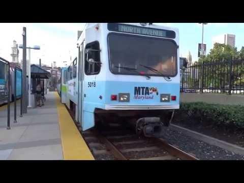Baltimore LRV @ Baltimore Camden Yards Station