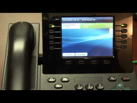 8900-9900 Handset Training - Video 5 - Voicemail.mp4