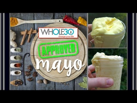 Easy Homemade Mayonnaise (whole30 approved!) from the OffBeatHomestead Kitchen!
