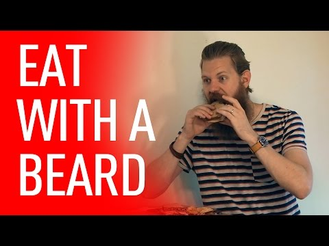 Eating With A Mustache or Beard - How To Tips | Eric Bandholz