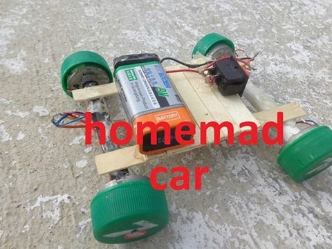 How To Make a Mini Car At Home - Very Simple ...4x4  Car at home at home