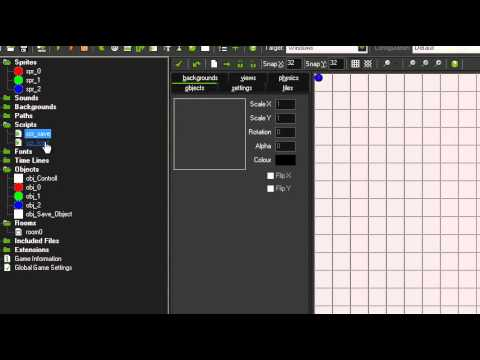 How To Use Ini Files To Save full Levels In Game Maker