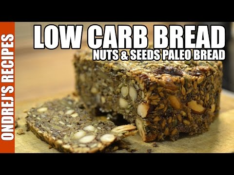 Low Carb Bread Recipe | Amazing Paleo Bread From Nuts & Seeds