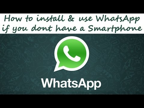How to install & use WhatsApp if you dont have a Smartphone on PC Windows without BlueStacks