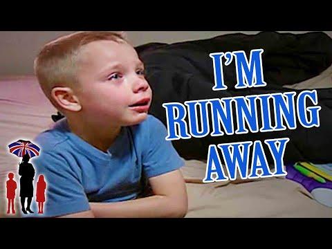 Supernanny | 5yr Old Threatens To Run Away When Mom Won't Let Him Skateboard