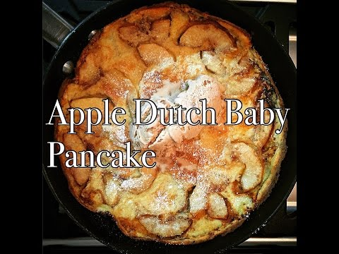 How To Make Easy Apple Dutch Baby Pancakes - No flipping required!