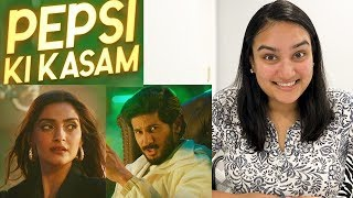Pepsi Ki Kasam REACTION | The Zoya Factor | Dulquer Salmaan | Sonam K Ahuja!