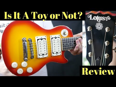 Tiny Guitar - A Toy or Not? Vintage Lotus Mini