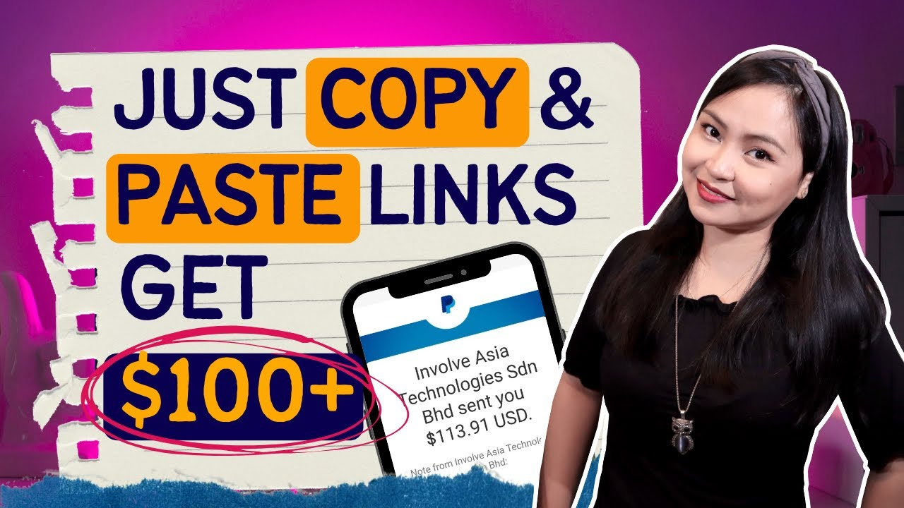Earn $100+ by Copy-Pasting in Facebook and Youtube!