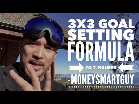 7 Figures in 3 years - Goal Setting Formula   @MoneySmartGuy   Matt Sapaula