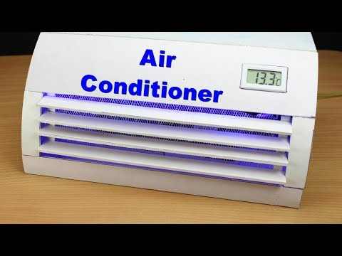 How to Make Mini AC at home