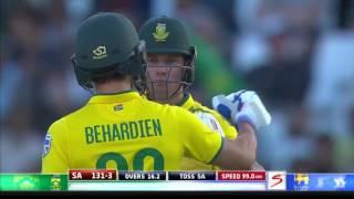 South Africa vs Sri Lanka - 3rd T20 - SA Innings