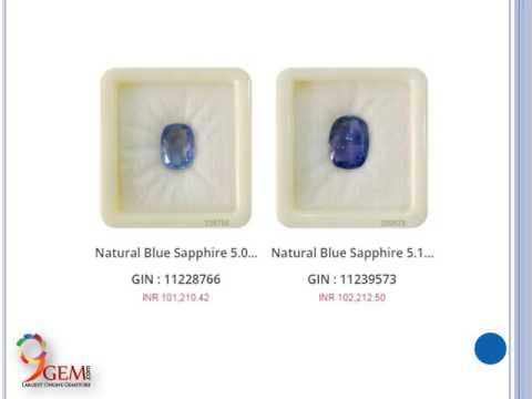 Buy Blue Sapphire Gemstone Online