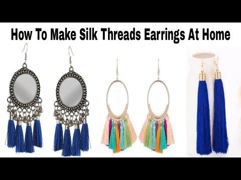 5 Minute DIY/DIY Tassels Earrings/VIEWER'S CHOICE