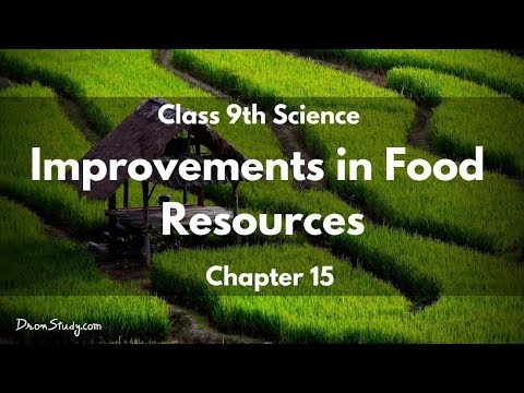 Improvements in Food Resources :  CBSE Class 9 IX Science